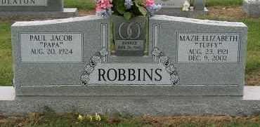 ROBBINS, MAZIE ELIZABETH - Mississippi County, Arkansas | MAZIE ELIZABETH ROBBINS - Arkansas Gravestone Photos