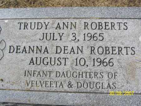 ROBERTS, DEANNA DEAN - Mississippi County, Arkansas | DEANNA DEAN ROBERTS - Arkansas Gravestone Photos