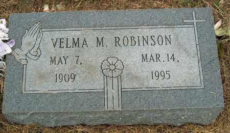 ROBINSON, VELMA M - Mississippi County, Arkansas | VELMA M ROBINSON - Arkansas Gravestone Photos