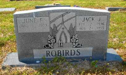 ROBIRDS, JACK J - Mississippi County, Arkansas | JACK J ROBIRDS - Arkansas Gravestone Photos