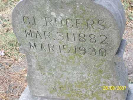 ROGERS, C.I. - Mississippi County, Arkansas | C.I. ROGERS - Arkansas Gravestone Photos