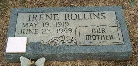 ROLLINS, IRENE - Mississippi County, Arkansas | IRENE ROLLINS - Arkansas Gravestone Photos