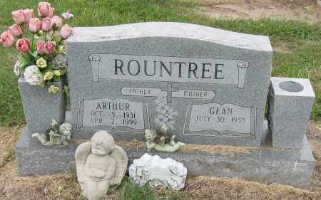ROUNTREE, ARTHUR - Mississippi County, Arkansas | ARTHUR ROUNTREE - Arkansas Gravestone Photos