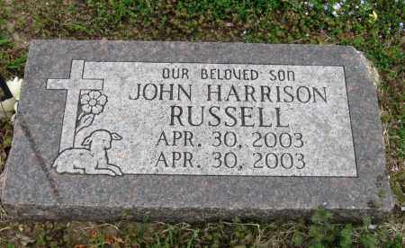 RUSSELL, JOHN HARRISON - Mississippi County, Arkansas | JOHN HARRISON RUSSELL - Arkansas Gravestone Photos