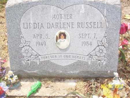 RUSSELL, LIDDIA DARLENE - Mississippi County, Arkansas | LIDDIA DARLENE RUSSELL - Arkansas Gravestone Photos