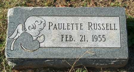 RUSSELL, PAULETTE - Mississippi County, Arkansas | PAULETTE RUSSELL - Arkansas Gravestone Photos