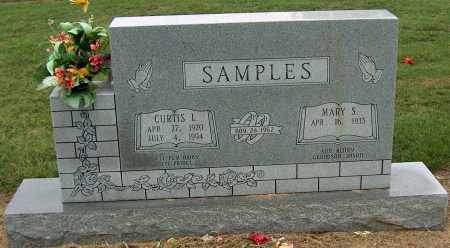 SAMPLES, CURTIS L - Mississippi County, Arkansas | CURTIS L SAMPLES - Arkansas Gravestone Photos