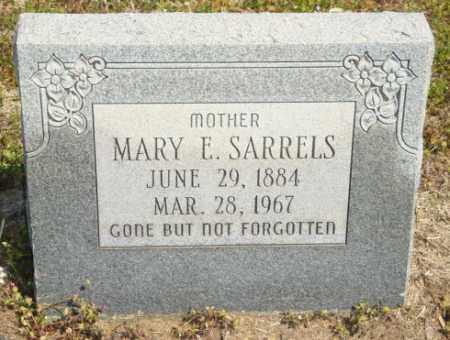 SARRELS, MARY E - Mississippi County, Arkansas | MARY E SARRELS - Arkansas Gravestone Photos
