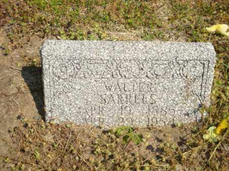 SARRELS, WALTER - Mississippi County, Arkansas | WALTER SARRELS - Arkansas Gravestone Photos