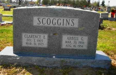 SCOGGINS, CLARENCE E - Mississippi County, Arkansas | CLARENCE E SCOGGINS - Arkansas Gravestone Photos