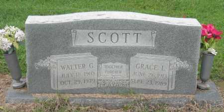 SCOTT, WALTER G - Mississippi County, Arkansas | WALTER G SCOTT - Arkansas Gravestone Photos