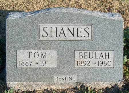 SHANES, BEULAH - Mississippi County, Arkansas | BEULAH SHANES - Arkansas Gravestone Photos