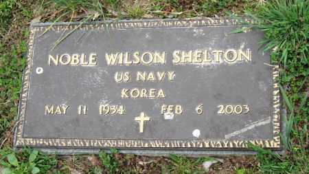 SHELTON  (VETERAN KOR), NOBLE WILSON - Mississippi County, Arkansas | NOBLE WILSON SHELTON  (VETERAN KOR) - Arkansas Gravestone Photos