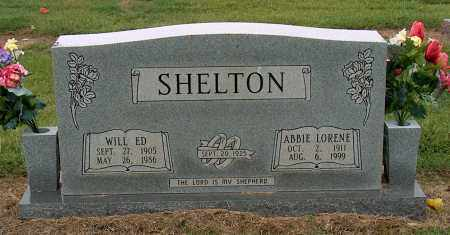 SHELTON, WILL ED - Mississippi County, Arkansas | WILL ED SHELTON - Arkansas Gravestone Photos