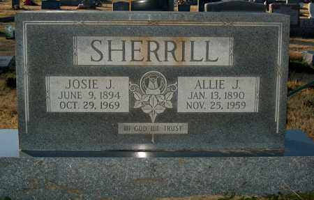 SHERRILL, ALLIE J - Mississippi County, Arkansas | ALLIE J SHERRILL - Arkansas Gravestone Photos