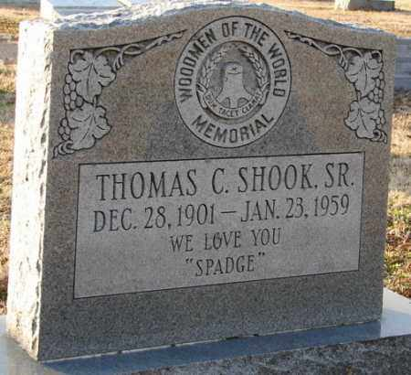 SHOOK, SR., THOMAS C. - Mississippi County, Arkansas | THOMAS C. SHOOK, SR. - Arkansas Gravestone Photos