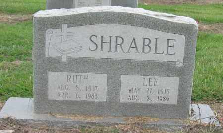 SHRABLE, RUTH - Mississippi County, Arkansas | RUTH SHRABLE - Arkansas Gravestone Photos