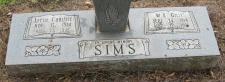 SIMS, LETTIE - Mississippi County, Arkansas | LETTIE SIMS - Arkansas Gravestone Photos