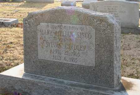 SISCO, MARY LILLIAN - Mississippi County, Arkansas | MARY LILLIAN SISCO - Arkansas Gravestone Photos