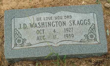 SKAGGS, J.D. WASHINGTON - Mississippi County, Arkansas | J.D. WASHINGTON SKAGGS - Arkansas Gravestone Photos