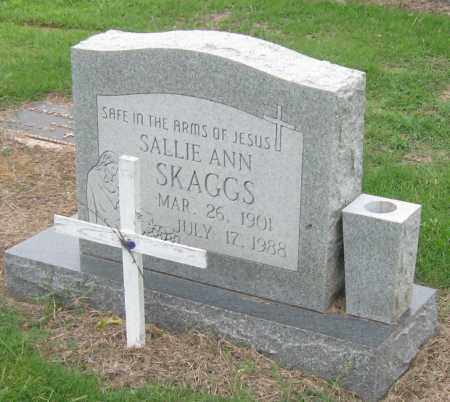 SKAGGS, SALLIE ANN - Mississippi County, Arkansas | SALLIE ANN SKAGGS - Arkansas Gravestone Photos