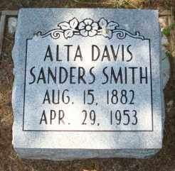 SMITH, ALTA DAVIS - Mississippi County, Arkansas | ALTA DAVIS SMITH - Arkansas Gravestone Photos