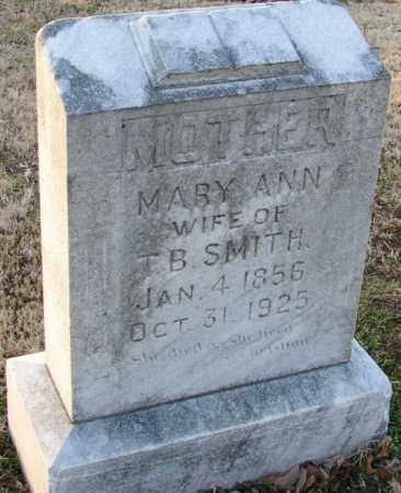 SMITH, MARY ANN - Mississippi County, Arkansas | MARY ANN SMITH - Arkansas Gravestone Photos