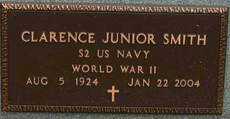 SMITH (VETERAN WWII), CLARENCE JUNIOR - Mississippi County, Arkansas | CLARENCE JUNIOR SMITH (VETERAN WWII) - Arkansas Gravestone Photos