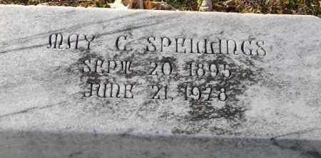 SPELLINGS, MAY C. - Mississippi County, Arkansas | MAY C. SPELLINGS - Arkansas Gravestone Photos