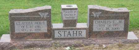 HOUT STAHR, CLAUDIA - Mississippi County, Arkansas | CLAUDIA HOUT STAHR - Arkansas Gravestone Photos