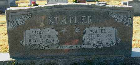 STATLER, RUBY F - Mississippi County, Arkansas | RUBY F STATLER - Arkansas Gravestone Photos