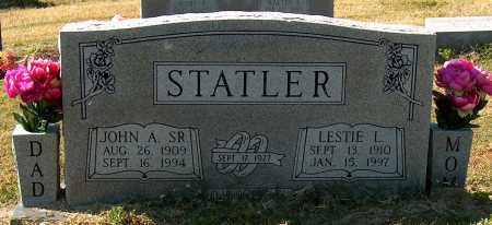 STATLER, LESTIE L - Mississippi County, Arkansas | LESTIE L STATLER - Arkansas Gravestone Photos
