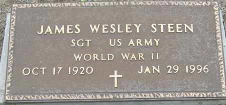 STEEN (VETERAN WWII), JAMES WESLEY - Mississippi County, Arkansas | JAMES WESLEY STEEN (VETERAN WWII) - Arkansas Gravestone Photos