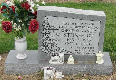 YANCEY STEINFELDT, BOBBIE Q. - Mississippi County, Arkansas | BOBBIE Q. YANCEY STEINFELDT - Arkansas Gravestone Photos
