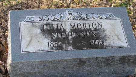 MORTON STEVENSON, JULIA - Mississippi County, Arkansas | JULIA MORTON STEVENSON - Arkansas Gravestone Photos