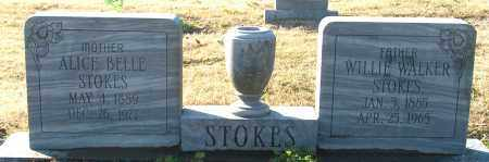 STOKES, WILLIE WALKER - Mississippi County, Arkansas | WILLIE WALKER STOKES - Arkansas Gravestone Photos