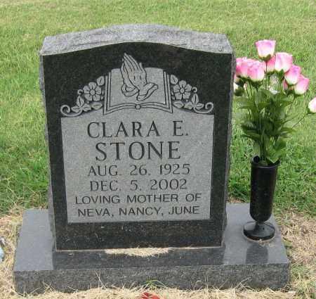 STONE, CLARA E. - Mississippi County, Arkansas | CLARA E. STONE - Arkansas Gravestone Photos