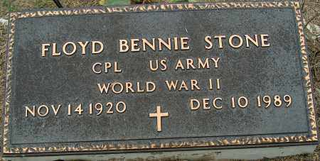 STONE (VETERAN WWII), FLOYD BENNIE - Mississippi County, Arkansas | FLOYD BENNIE STONE (VETERAN WWII) - Arkansas Gravestone Photos