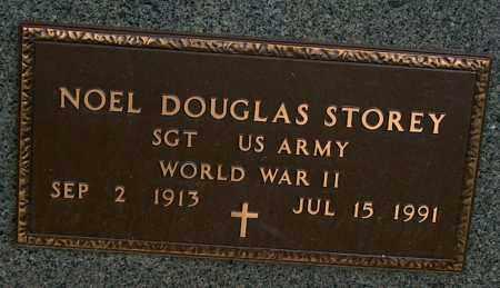 STOREY (VETERAN  WWII), NOEL DOUGLAS - Mississippi County, Arkansas | NOEL DOUGLAS STOREY (VETERAN  WWII) - Arkansas Gravestone Photos