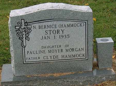 STORY, N BERNICE - Mississippi County, Arkansas | N BERNICE STORY - Arkansas Gravestone Photos