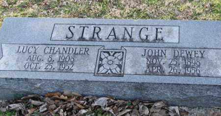 CHANDLER STRANGE, LUCY - Mississippi County, Arkansas | LUCY CHANDLER STRANGE - Arkansas Gravestone Photos