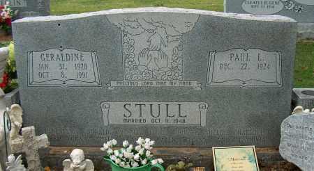 STULL, GERALDINE - Mississippi County, Arkansas | GERALDINE STULL - Arkansas Gravestone Photos