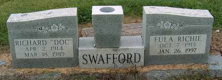 SWAFFORD, RICHARD - Mississippi County, Arkansas | RICHARD SWAFFORD - Arkansas Gravestone Photos