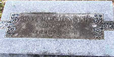 SWIFT, HENRY MARCELLUS - Mississippi County, Arkansas | HENRY MARCELLUS SWIFT - Arkansas Gravestone Photos