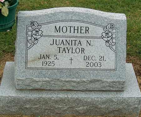 TAYLOR, JUANITA N - Mississippi County, Arkansas | JUANITA N TAYLOR - Arkansas Gravestone Photos