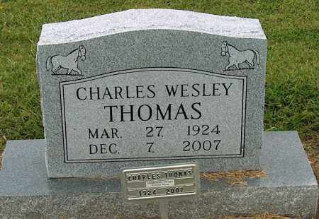 THOMAS, CHARLES WESLEY - Mississippi County, Arkansas | CHARLES WESLEY THOMAS - Arkansas Gravestone Photos