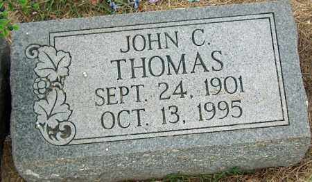 THOMAS, JOHN C - Mississippi County, Arkansas | JOHN C THOMAS - Arkansas Gravestone Photos