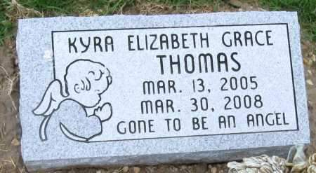 THOMAS, KYRA ELIZABETH GRACE - Mississippi County, Arkansas | KYRA ELIZABETH GRACE THOMAS - Arkansas Gravestone Photos