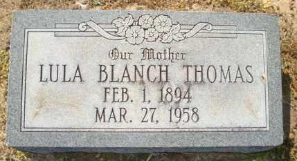 THOMAS, LULA BLANCH - Mississippi County, Arkansas | LULA BLANCH THOMAS - Arkansas Gravestone Photos