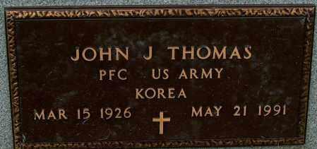 THOMAS (VETERAN KOR), JOHN J - Mississippi County, Arkansas | JOHN J THOMAS (VETERAN KOR) - Arkansas Gravestone Photos